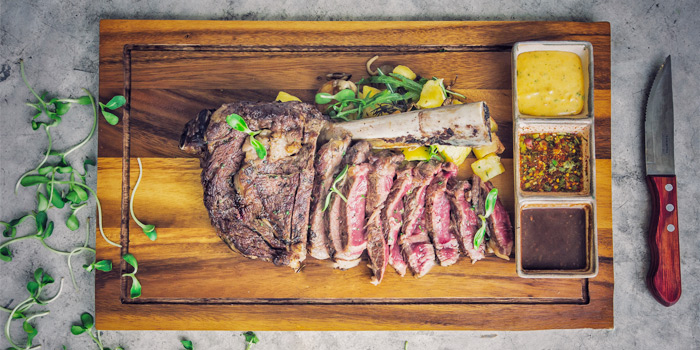 Grilled Wagyu from Palm Seaside on Bangtao Beach, Phuket, Thailand