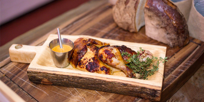 Half Spanish Chicken with Manchego & Chorizo from Cut Grill & Lounge in Lagoon Road, Boat Avenue, Cherngtalay, Talang, Phuket,