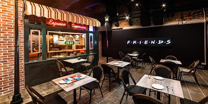 Interior of Central Perk (F.R.I.E.N.D.S Cafe) in Clarke Quay, Singapore