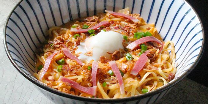 Kimchi Carbonara from Stateland Cafe in Bugis, Singapore