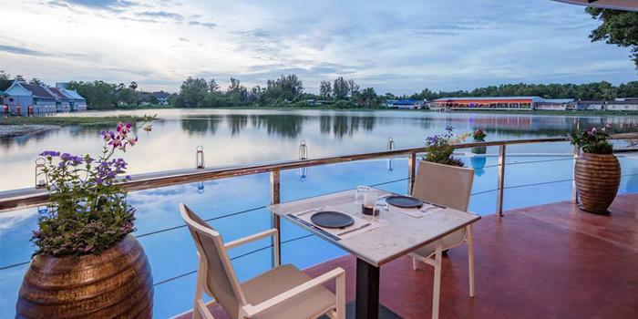 Lake View of Cut Grill & Lounge in Lagoon Road, Boat Avenue, Cherngtalay, Talang, Phuket, Thailand