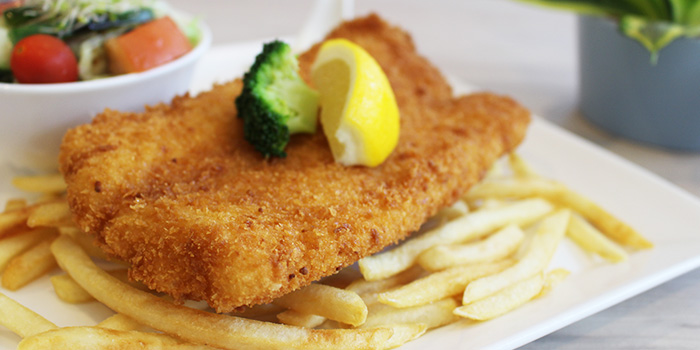 Fish & Chips from Metropolitan YMCA Singapore in Bukit Timah, Singapore