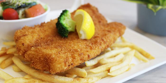 Fish & Chips from Metropolitan YMCA Singapore in Bukit Timah, Singapore
