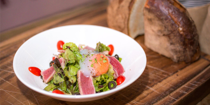 Nicoise Salad from Cut Grill & Lounge in Lagoon Road, Boat Avenue, Cherngtalay, Talang, Phuket, Thailand