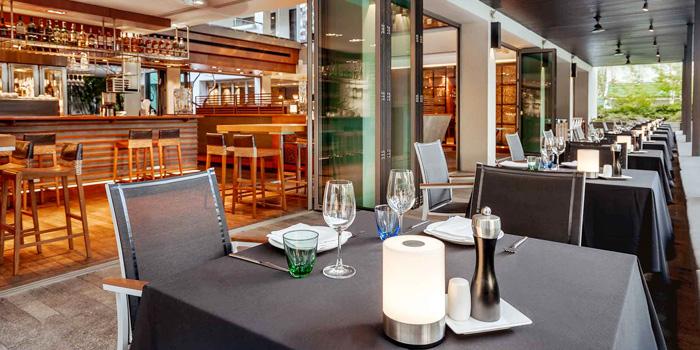 Open Air Dining Area of Oriental Spoon at Twinpalms Phuket, Phuket, Thailand