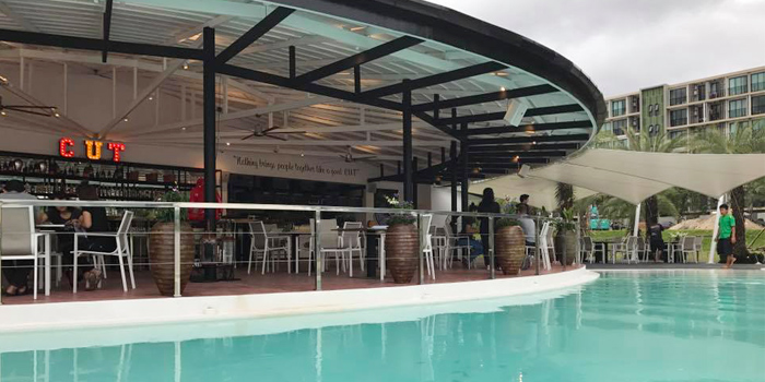 Outdoor of Cut Grill & Lounge in Lagoon Road, Boat Avenue, Cherngtalay, Talang, Phuket, Thailand