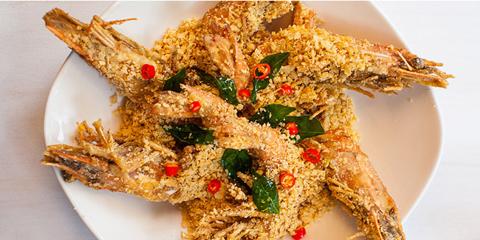 Crispy Cereal Prawns from Red House (Clarke Quay) in Clarke Quay, Singapore