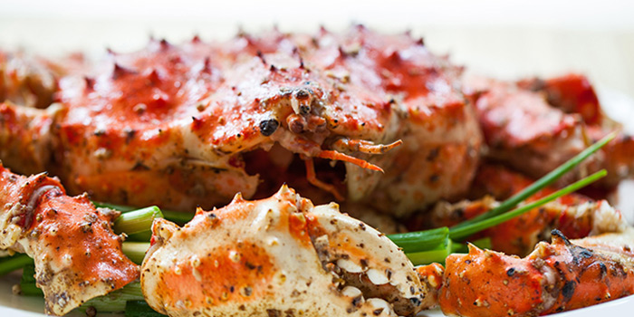 Wok Fried Crab Tossed in White Pepper from Red House Seafood (Clarke Quay) in Clarke Quay, Singapore