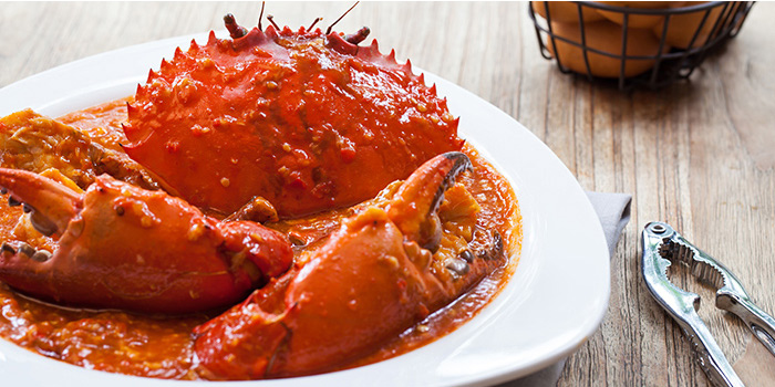 Crabs in Red House Chilli Stew from Red House Seafood (Clarke Quay) in Clarke Quay, Singapore