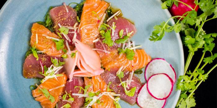 Sashimi Salad from HQ Beach Lounge on Kamala Beach, Phuket, Thailand