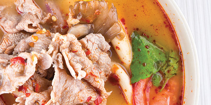 Tom Yum Beef from Som Tam in Orchard, Singapore