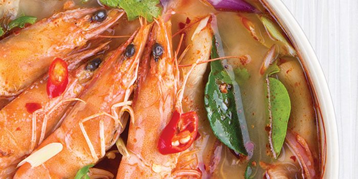 Tom Yum Koong from Som Tam in Orchard, Singapore
