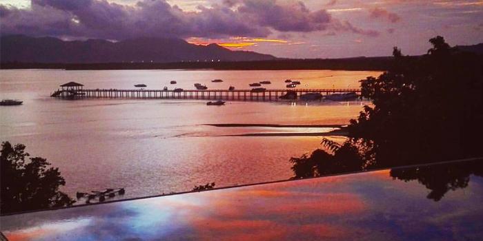 Sunset of Breeze at Cape Yamu in Paklok, Thalang, Phuket, Thailand