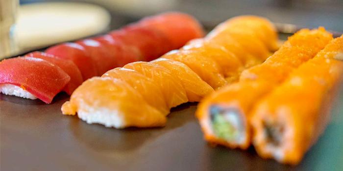 Sushi from Oriental Spoon at Twinpalms Phuket, Phuket, Thailand