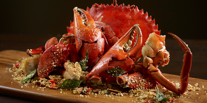 Cereal Crab from Ah Hoi