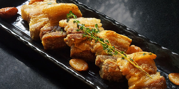 Pork Crackling from Canopy Bishan in Bishan, Singapore
