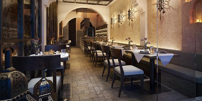 Dining Area from Al Saray in Silom Soi 2/1, Bangkok