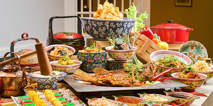 Buffet Spread of Ellenborough Market Cafe in Swissotel Merchant Court in Clarke Quay, Singapore