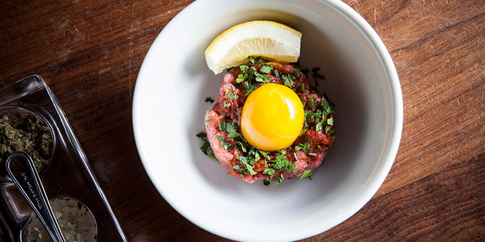 Steak Tartar from Employees Only Singapore in Tanjong Pagar, Singapore
