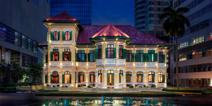 Exterior of the Courtyard at The House on Sathorn, Bangkok