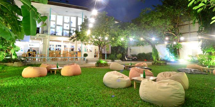 Garden from Upstairs Mekkeller Bangkok in Ekkamai Soi 10, Bangkok