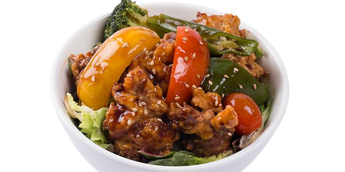 Chicken with Black Vinegar Sauce from Grand jetè izakaya at Aperia Mall in Lavender, Singapore