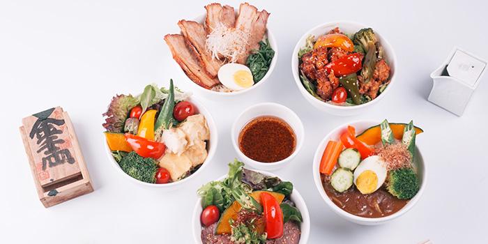 Food Spread from Grand jetè izakaya at Aperia Mall in Lavender, Singapore