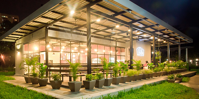 Exterior of GRUB in Ang Mo Kio, Singapore
