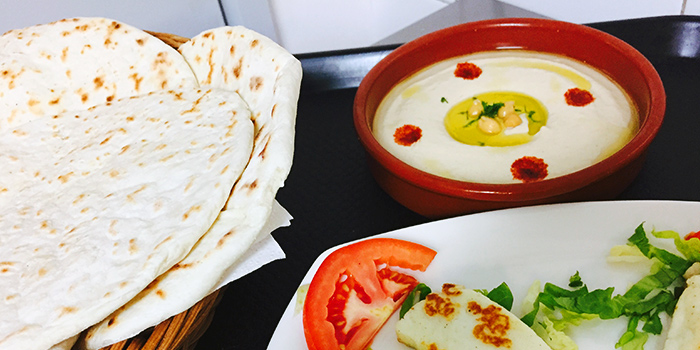 Hummus from Le Rida (Mediterranean, French & North Indian Cuisine) in Bukit Timah, Singapore