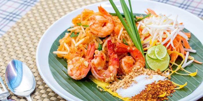 Pad Thai Chop from Capri Noi Restaurant in Karon, Phuket, Thailand.