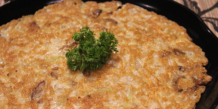 Pan Fried Bean Curd with Porcini, The Veggie, Kwun Tong, Hong Kong