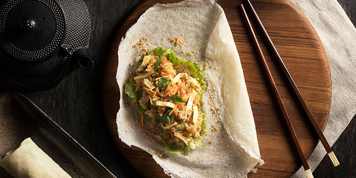 Classic Popiah from Po Restaurant at The Warehouse Hotel in Robertson Quay, Singapore
