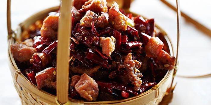 Chongqing Diced Dried Chilli Chicken from Si Chuan Dou Hua (Beach Road) in Bugis, Singapore
