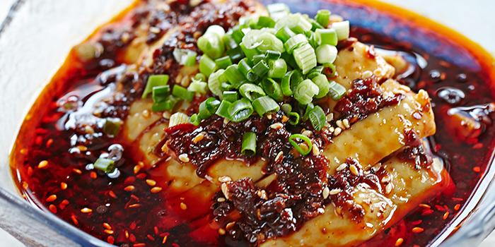 Chongqing Spicy Bean Paste Chilled Chicken from Si Chuan Dou Hua (Beach Road) in Bugis, Singapore