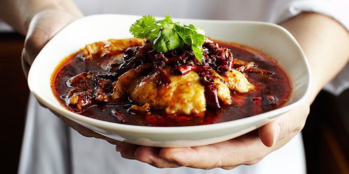Sichuan Pepper Sauce Sliced Fish from Si Chuan Dou Hua (Beach Road) in Bugis, Singapore