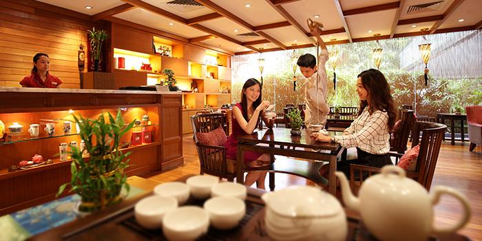 Tian Fu Tea Room of Si Chuan Dou Hua (Beach Road) in Bugis, Singapore