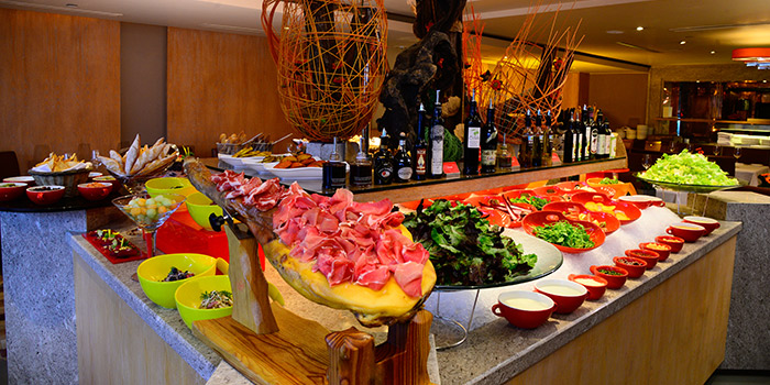 Salad Bar of THE STEAK HOUSE winebar + grill, Tsim Sha Tsui East, Hong Kong
