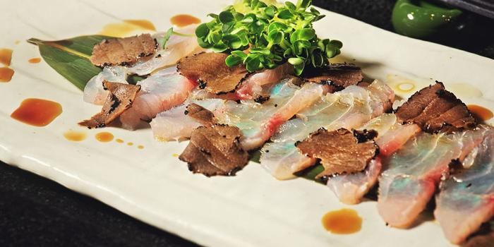 Sashimi Torfuyu Fumi from Soraya Japanese Steak & Izakaya in Surawong Center Alley, Bangkok