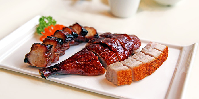 Roast Meat from Sky View Pavilion at Singapore Flyer in Promenade, Singapore