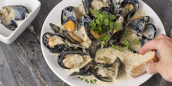 Steamed US Mussels, Westwood Carvery, Lan Kwai Fong, Hong Kong