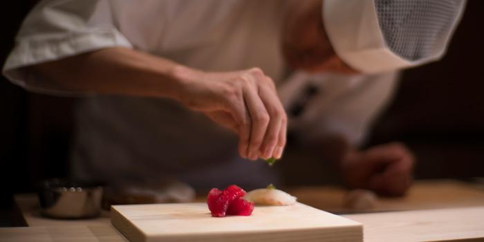 Sushi Making from Sushi Zo at Athenee Tower, Bangkok