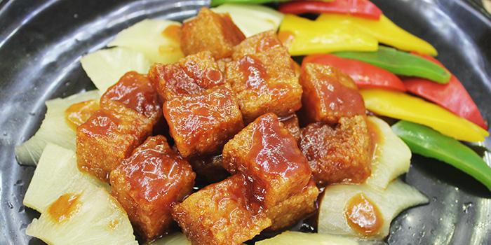 Sweet and Sour Konjac, The Veggie, Kwun Tong, Hong Kong
