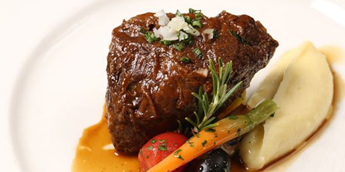 Traditional Provencal Daubed Of Braised Beef Cheek from Le Vendome in Sukhumvit Soi 31, Bangkok