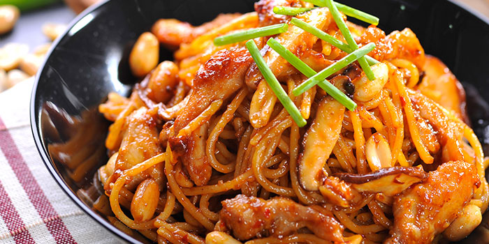 Charlie Chan Chicken Pasta from Yellow Cab Pizza Co. at CityLink Mall in City Hall, Singapore