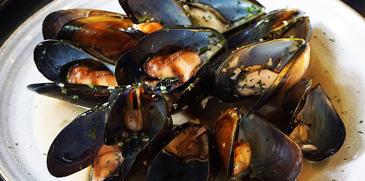 Char Grilled Mussel from Canopy Bishan in Bishan, Singapore