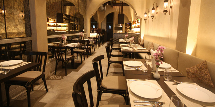 Dining Tables from Al Saray in Silom Soi 2/1, Bangkok