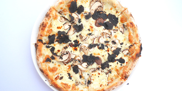 Mushroom Pizza from Acqua e Farina at The Rail Mall in Bukit Timah, Singapore