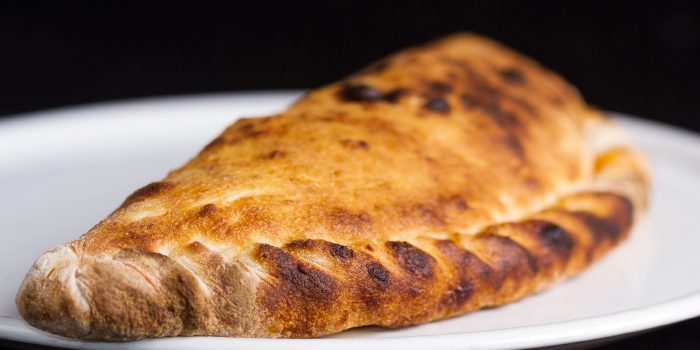 Calzone from Bellini in Chalong, Phuket, Thailand