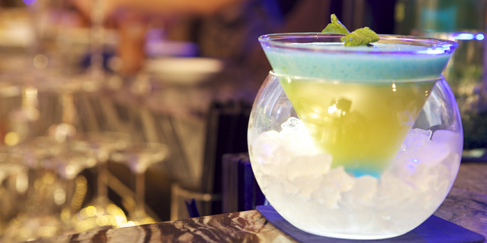 Cocktail from Sapphire Bar at The Sukosol, Bangkok