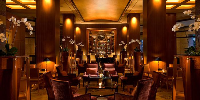 Interior of Lobby Lounge in Conrad Centennial Hotel in Promenade, Singapore